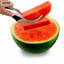 Watermelon Cutter Knife Fruit Fast Slicer Smart Kitchen Paring Knife Cutting Tool Vegetable Salad Tong Cortador Sandia