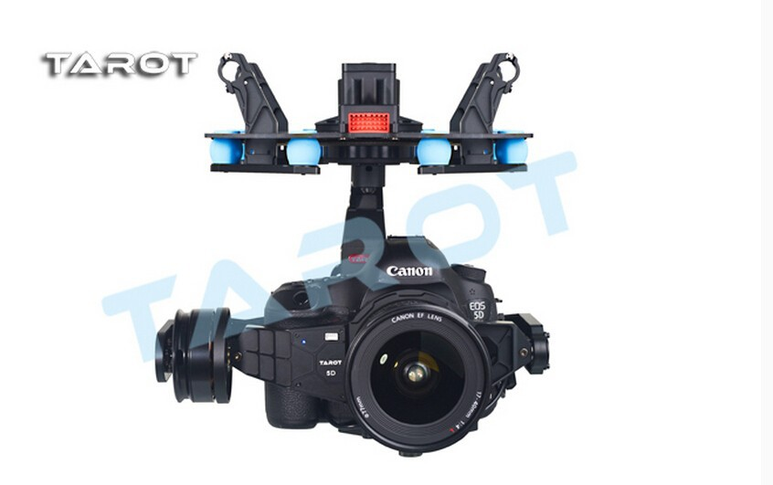 Tarot 5D3 3 Axis Stabilization Gimbal TL5D001 Integration Design for Multicopter FPV 5D Mark III DSLR Camera focal integration tis 1 5