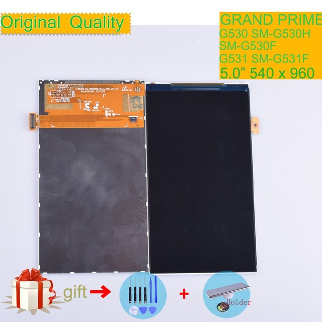 f495e1f4a76 ORIGINAL For Samsung Galaxy Grand Prime G530 G530F G530H G531 G531F LCD  Display Screen Panel Monitor