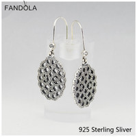 Authentic 100% S925 Sterling Silver Lace Charms Stylish And Elegant European Style Jewelry Charms CKK