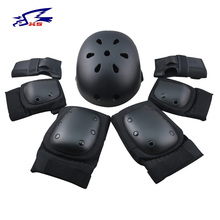 XS Boys Cycling Helmet 7pc/set Ice Skating Protective Gear Elbow Pads Child Bicycle Skateboard RollerSkating Knee Protector Sets