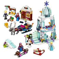 Friends Series Princess Figures Dress Up Building Block Toys Compatible Legos Friends City Frozen Princess Castle
