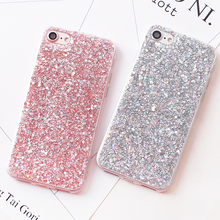 Luxury Shinning Glitter Cases For iphone 6 6S 8 Plus X 5SE 5 5S Soft Love Heart Phone Silicon TPU Capa Fundas for iPhone 7 7Plus