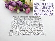 Über brief und anzahl Design Metall Stanzformen Scrapbooking Präge Schablone DIY Decoative Hochzeit papier karte geschenk ZJ-163