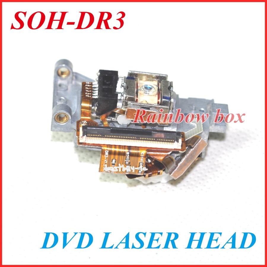Lentille Laser SOH-DR3 Lasereinheit SOHDR3 prise Optique Bloc Optique pour DVD SOH DR3