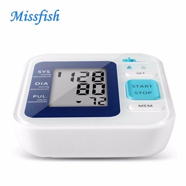 MF-B01 عالية الذاكرة الرقمية ضغط الدم متر بصوت/الحديث/الذين الطبية نبض bp