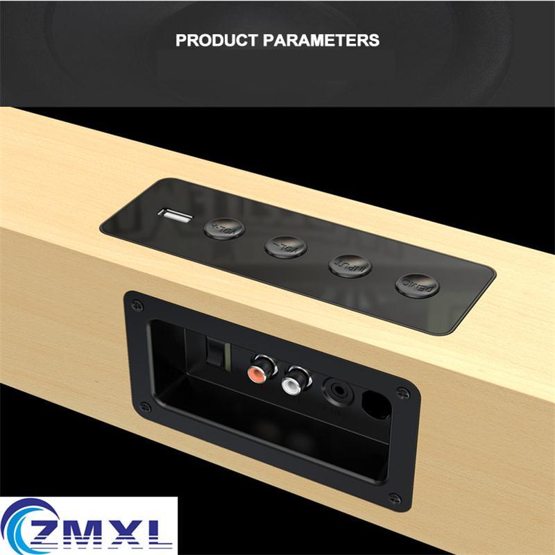 A8 TV Stereo Echo Wand Lautsprecher 5,1 Heimkino LCD Wohnzimmer ...