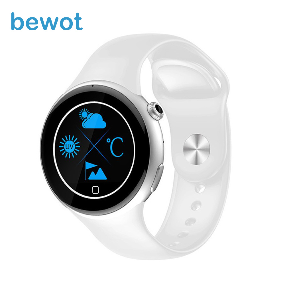 Free Shipping Sports font b Smart b font Watch C5 with 1 22 Round Display Bluetooth