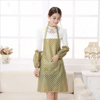 100 New And High Quality Pecial Offer Apron Kit Bib Apron Cartoon Long Sleeve Cuff Waterproof
