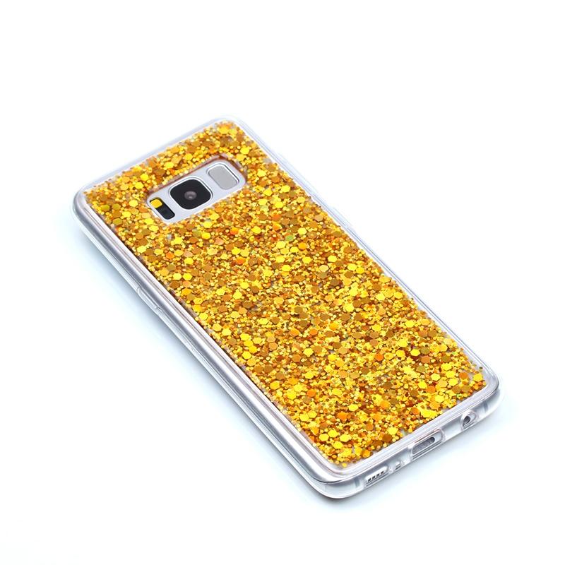 Glitter Bling Cover para Samsung galaxy s8 funda Cute Candy Colorful - Accesorios y repuestos para celulares - foto 2