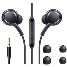 3.5mm Stereo Headset Earphone Microphone for Samsung Galaxy S10 S9 S8 Plus S7 S6 Edge Note 9 8 7