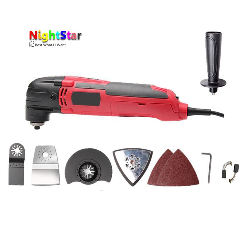 цена на 300W Multifunction Drill tools Home DIY Variable Speed Drilling tools For Oscillation Multi-tool