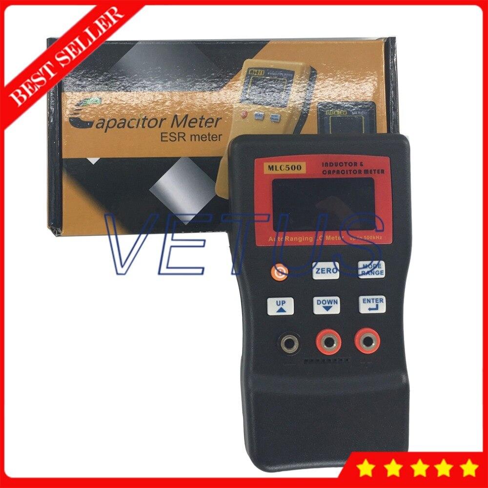 MLC500 LCD affichage Portable testeur de condensateur numérique