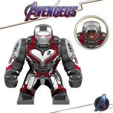 Legoed Avengers 4 Endgame Marvel Iron Man Thanos Infinity Gauntlet Action Figures Building Blocks Model Children Gift Toys