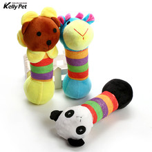 Dog Pet Puppy Plush Sound Toys Chew Squeaker Squeaky  squirrel dog chew squeak 3 Designs High Quality