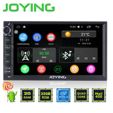 New JOYING 2GB RAM Android 5.1 lollipop Quad Core Car Audio Stereo GPS Navigation Double 2 Din HU HD Radio Multimedia Player
