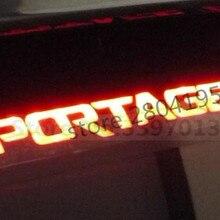 Автомобильный тормозной светильник углеродного волокна 3D Стикеры для Kia Sportage R для 2011 2012 2013