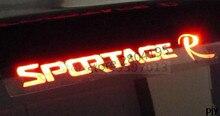 سيارة الفرامل ضوء ألياف الكربون ثلاثية الأبعاد ملصق لكيا سبورتاج R اكسسوارات 2011 2012 2013 2014 2015
