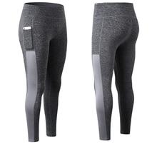 ZOGAA High Elastic Women women Pants Pocket Legging Gym Fitness Sport Trouser Quick Dry Running Pant Skinny Compression Leggin