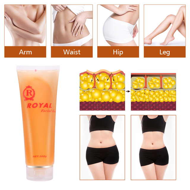 300ML Weight loss Hydration Anti Cellulite Fat Buring  Slimming Body Leg Belly shaping  Royal Facial Gel 4