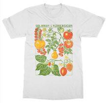 72c788cc Short Sleeve O-Neck Tomato T-Shirt Botanical Garden Plant Print Art Botany  Bloom Fruit Flower Grow T shirt
