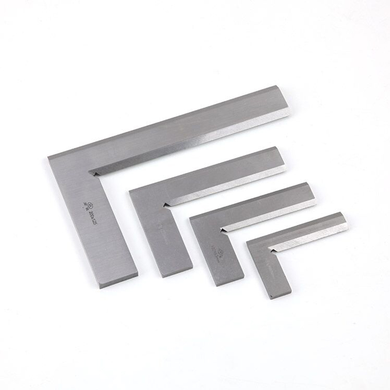 1PCS Stainless Steel Right Angle 90 Degree Bladed 90 Degree Angle Try Square Ruler Metric Square Ruler