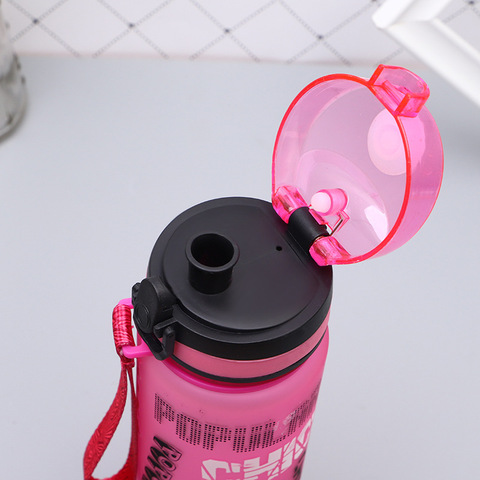 New Portable Plastic BPA Free Leak Proof My Sports Kids Water Bottle 600/1000Ml Tour Hiking Insulated Tea Cup Bottles For Summer Multan