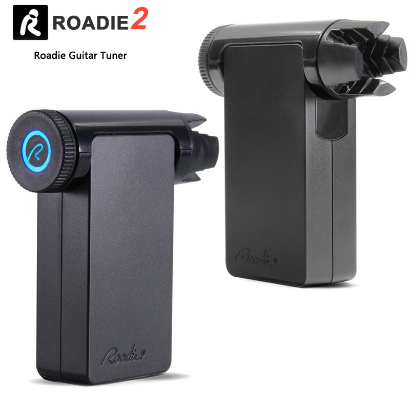 roadie tuner 2 standalone automatic guitar tuner for all string instruments guitar mandolin. Black Bedroom Furniture Sets. Home Design Ideas