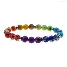 7 Chakra reiki natural stone bracelet emperor men and women jewelry