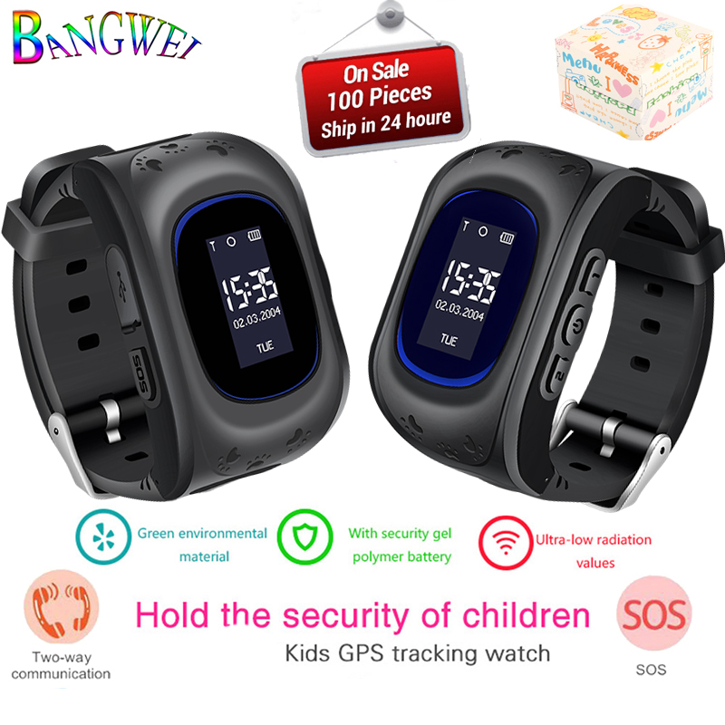 Kids Watches With SIM Card Russian Smartwatch Baby Watch For Call Finder Locator LBS Real-Time Monitor Children Smart Watch+Box