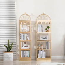 NICE Birdcage Bookshelf Square Stands Decorate Shelves For The Living RoomChina