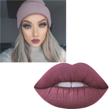 2017 New Lipstick Matte Long Lasting Pigment Nude Lip Tint Hot Brand Holiday Miss Rose Makeup Kit Liquid Matte Red Lipstick