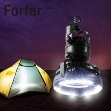 Forfar Light Flashlight Ceiling Fan Camping Combo 18 LED Lantern Outdoor Tool Hiking Fishing Outages Gear Equipment