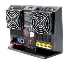 AVC RT-AC68U AC86U EX6200 Tengda AC15/EX6200 и AC68U 70*70*15 мм DC5V 0.20A теплоотвод роутера вентилятор USB