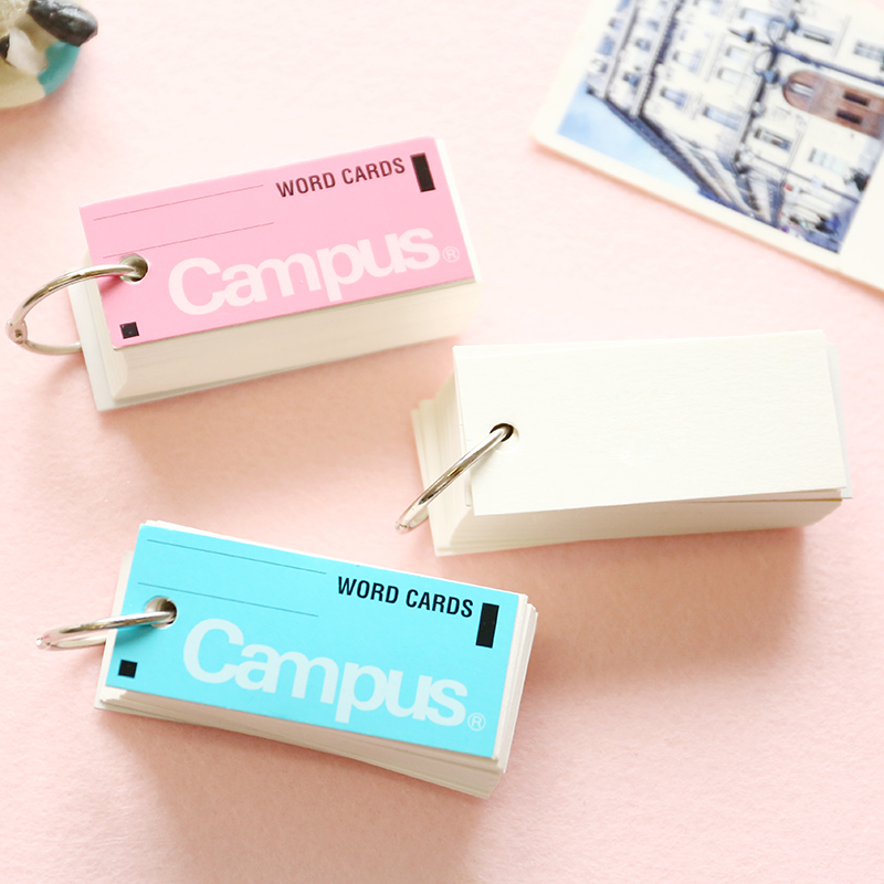 Stationery Japanese Portable Campus Words Cards Notebook Leaflet Hoop Mini Blank Notebook Pocket Book C922