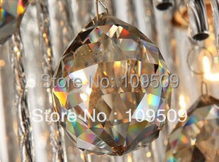 Free Shipping, 30mm Cognac Color Feng Shui Crystal Sphere Prism Rainbow Chi Ball Healing Sun Catcher