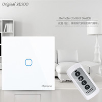 EU Standard SESOO Remote Control Switch 1gang 2gang 3Gang 1 Way RF433 Smart Wall Switch Wireless