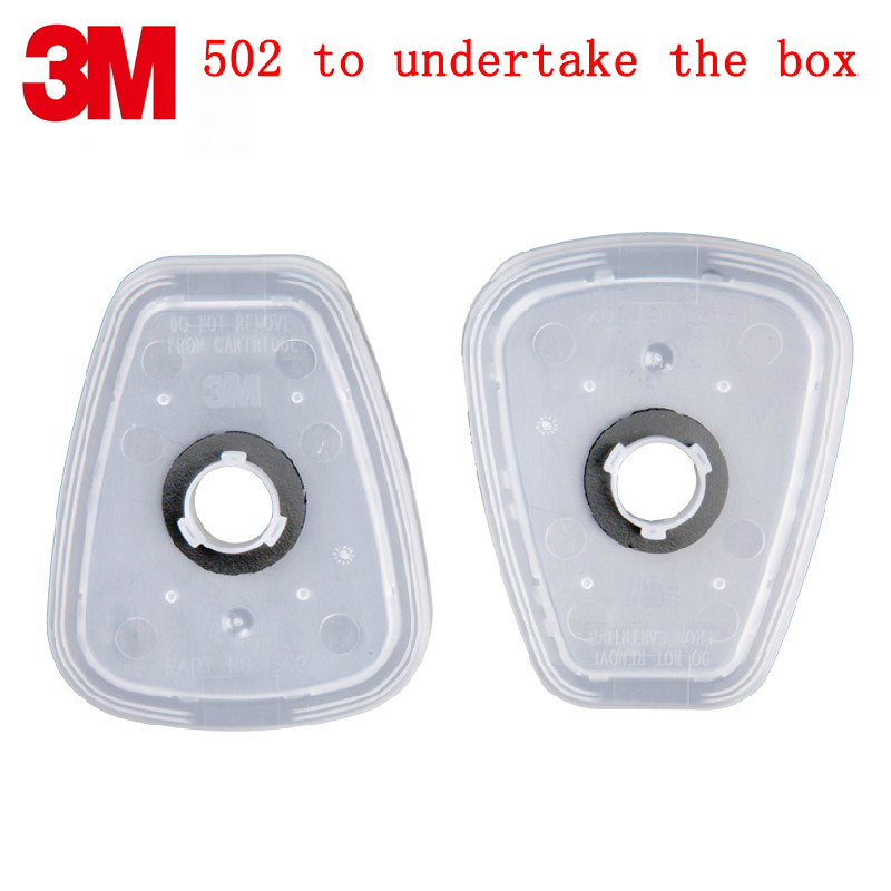 <font><b>3M</b></font> 502 filter cotton box Genuine security <font><b>3M</b></font> filter adapter <font><b>6000</b></font>/7000 series mask Filter cotton fixed box image