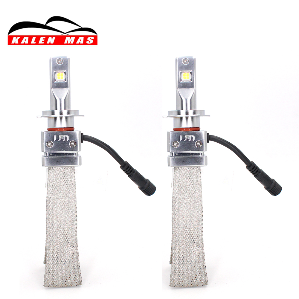 KALEN MAS car light h4 led headlight bulb h1 h3 h11 h13 9004 9005 9006 9007 h7 auto headlamp replacement 6500K 5800lm B2 car headlight led h4 h7 h11 72w 8000lm 6000k led h1 h3 h13 9005 9006 9004 880 9007 auto cob bulb automobiles headlamp car light