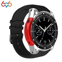 696 X100 Bluetooth Smart Watch Heart Rate fitness Tracker ROM 4GB 3G GPS Android 5.1 SmartWatch Men Sports Watchs