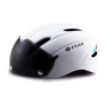 Велосипедный шлем EPS MTB велосипед ветрозащитные линзы интегрально-литой шлем Велоспорт Casco Ciclismo линзы очки Велоспорт