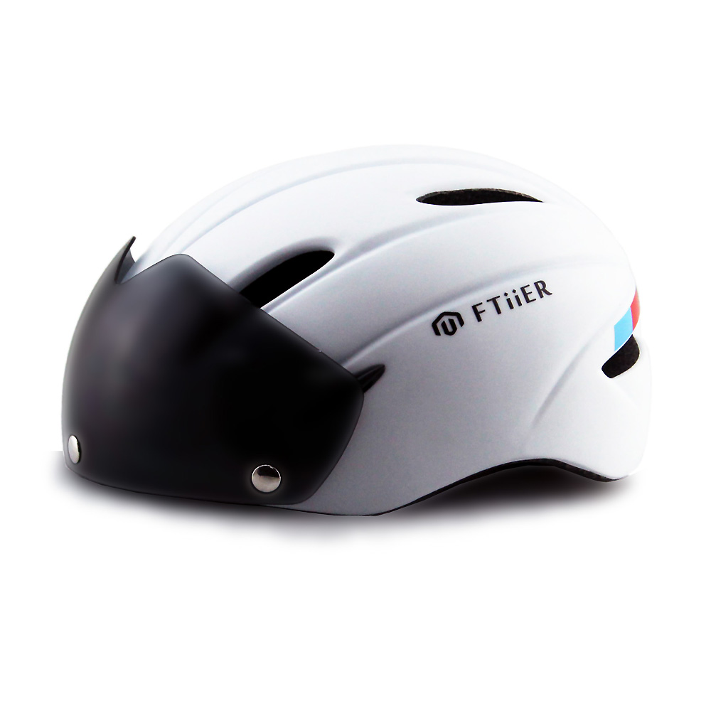 Bicycle Helmet EPS MTB Bike Windproof Lenses Integrally molded Helmet Cycling Casco Ciclismo lenses goggles cycling