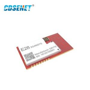Image 3 - SX1280 500 mW LoRa Modulo BLE 2.4 GHz Wireless Transceiver E28 2G4M27S SPI A Lungo Raggio 2.4 ghz BLE Trasmettitore rf 2.4 GHz Ricevitore