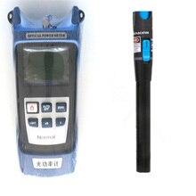 2 в 1 FTTH Волоконно-оптический набор инструментов волоконно-оптический измеритель мощности-70 + 10dBm и VFL 5 км 1 мВт Визуальный дефектоскоп Волоконно-оптический тест-ручка