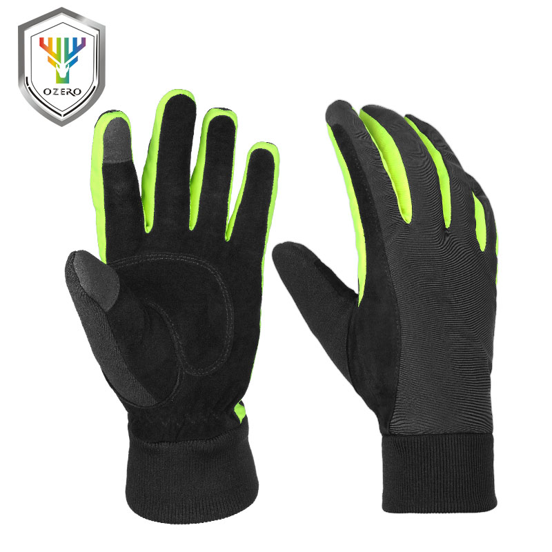 OZERO Winter Warm Gloves Work Welding Gloves Windproof Outdoor Insulate Waterproof TPU Gloves For Men Women 8017