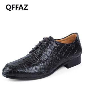 QFFAZ Brand Genuine Leather Ox