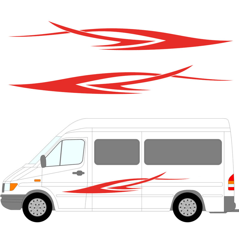 Popular Van Vinyl GraphicsBuy Cheap Van Vinyl Graphics Lots From - Custom vinyl decals for caravans
