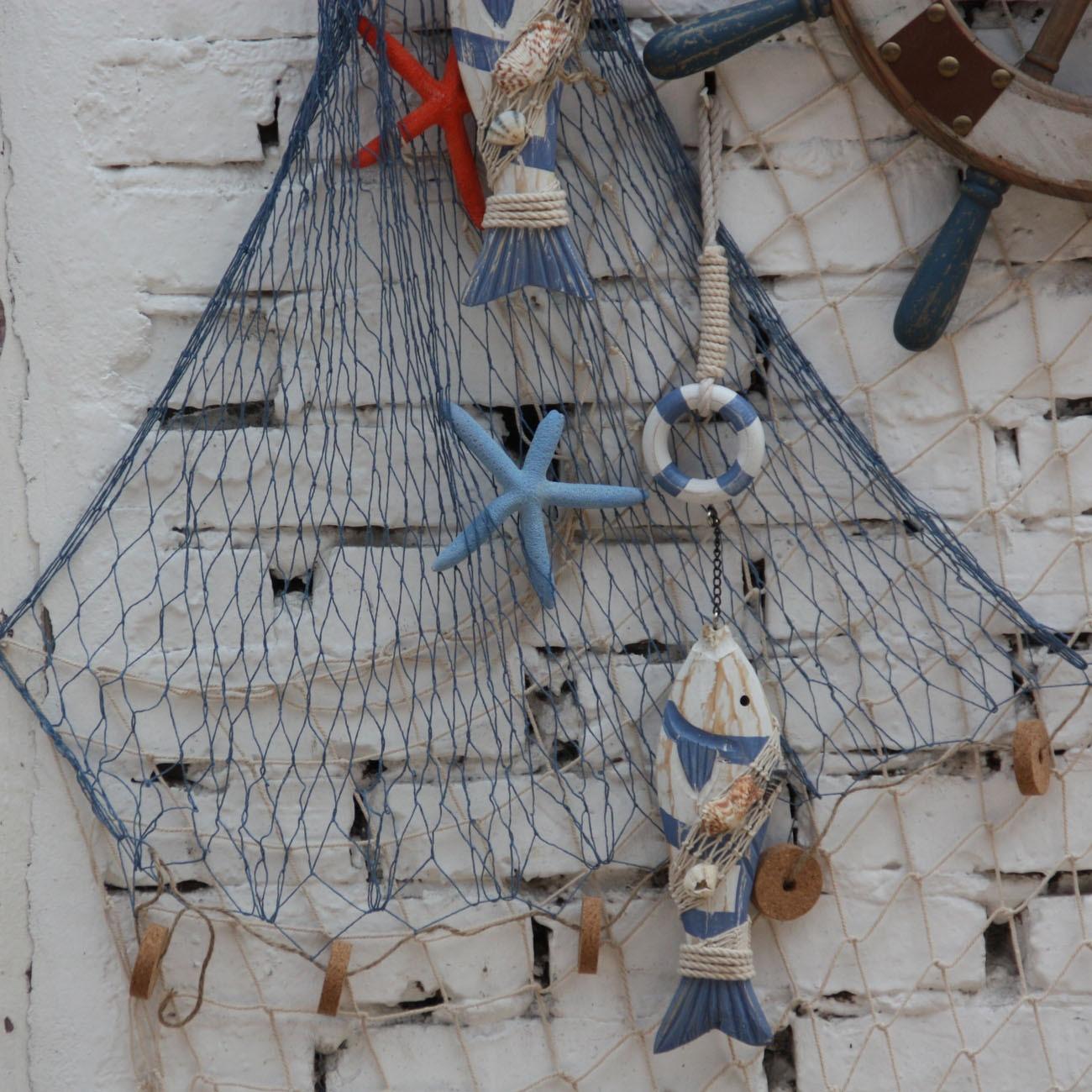 Decorative Fish Netting Aliexpresscom Buy Cotton Handmade Knitted Fishing Net Leptonema