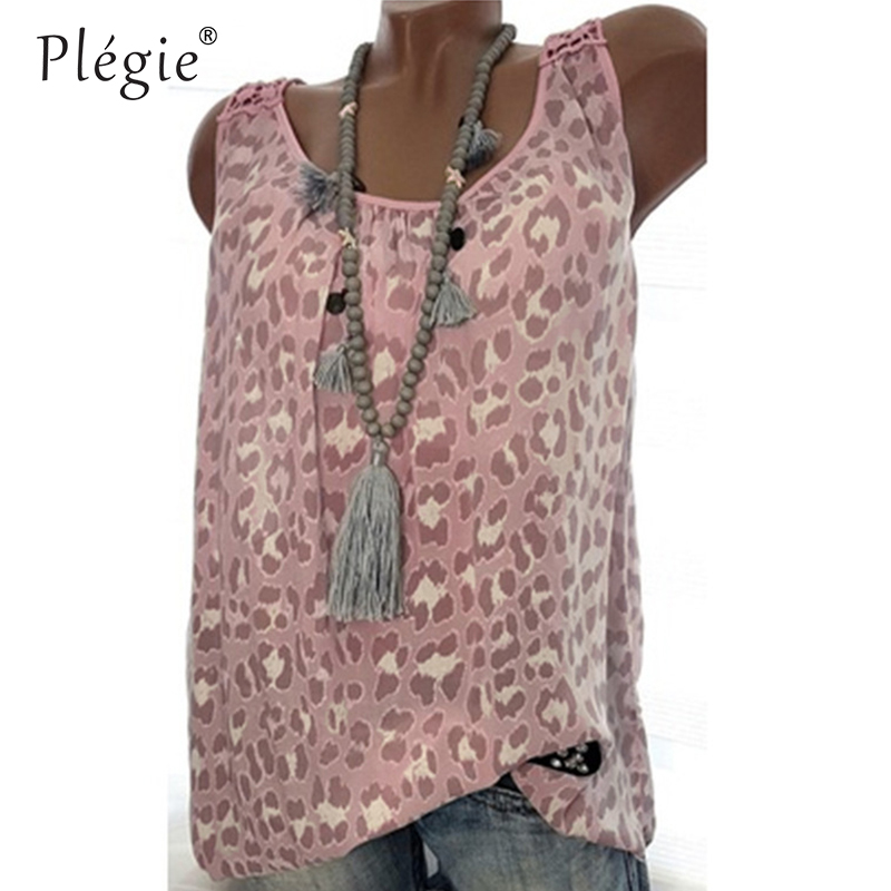 Plegie 5XL Plus Size Women Tops And Blouses 2018 Summer New Women Back Hollow Out Lace Patchwork Print Top Shirt Blouse