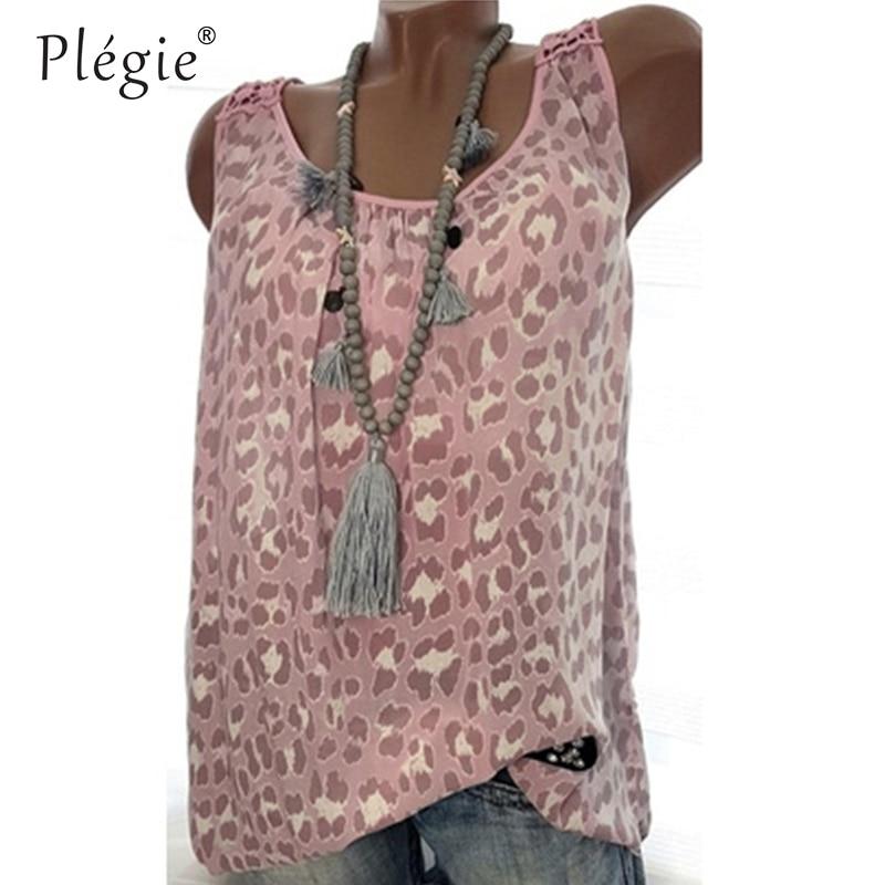 Plegie 5XL Plus Size Women Tops And Blouses 2018 Summer New Women Back Hollow Out Lace Patchwork Print Top Shirt Blouse